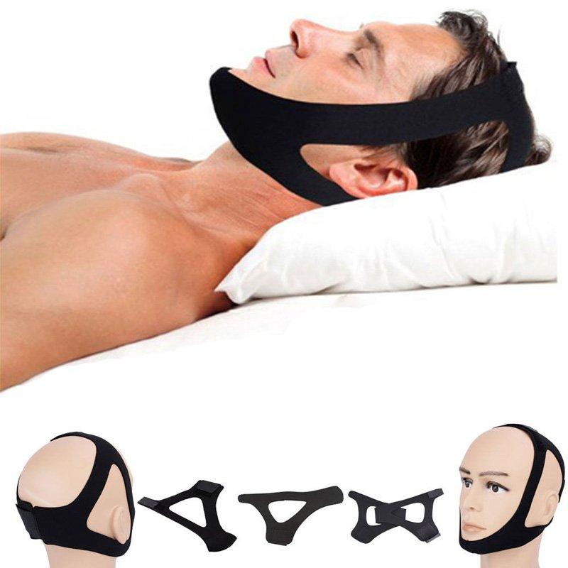 Stop Snoring Chin Strap SNORE BELT Anti Apnea Jaw Solution Sleep new