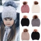 1 x Cute Toddler Kids Girl&Boy Baby Infant Winter Warm Crochet Knit Hat Beanie Cap new