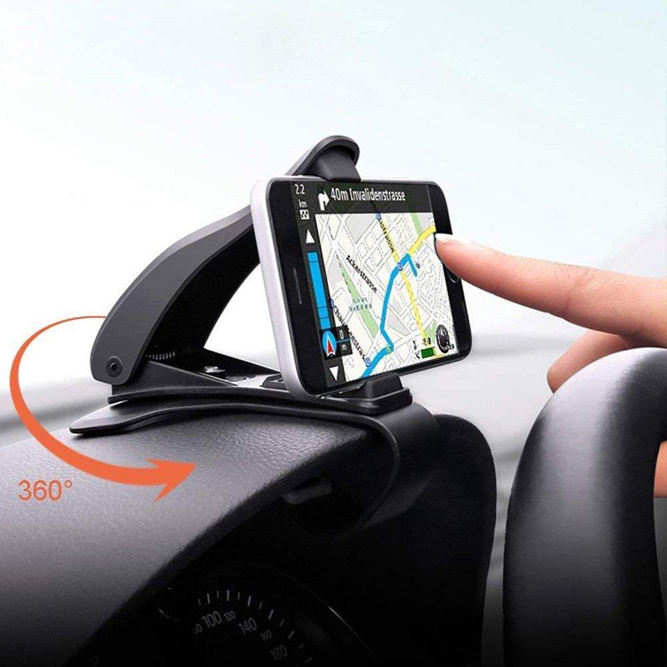 Car Phone Holder 360 Degree GPS Navigation Dashboard Phone Holder