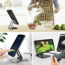 Phone Holder Stand for Xiaomi mi 9 Metal Phone Holder Foldable Mobile Holder Pho Black