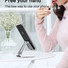 Phone Holder Stand for Xiaomi mi 9 Metal Phone Holder Foldable Mobile Holder Pho Silver