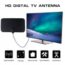 4K 25DB High Gain HD TV DTV Box Digital TV Antenna EU Plug 50 Miles Booster