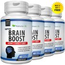 NATURAL BRAIN BOOSTER SUPPLEMENT CAPSULES MEMORY MENTAL FOCUS ANXIETY PILLS NG