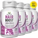 HERBAL HAIR BOOST VITAMINS FAST HAIR GROWTH GROW FASTER LONGER THICKER FULLER ng