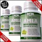 AMLA Extract Capsules Indian Gooseberry Detox Digestion Hair Pills Anti Oxidant ML