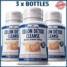 180 x Colon Detox Cleanse Capsules Detox Weight Loss Diet Pills Slimming Fiber ML