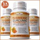 180 X TURMERIC MAXIMUM EXTRACT CAPSULES 95% CURCUMIN TUMERIC ANTIOXIDANT PILLS  EE