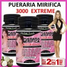 PUERARIA MIRIFICA 3000 EXTREME PURE & NATURAL BUST BREAST ENLARGEMENT CAPSULES AA
