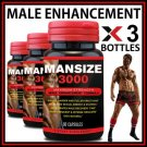 180 MALE PENIS ENLARGER GROWTH PILLS CAPS BIGGER GROW LONGER THICKER SIZE/GIRTH AA