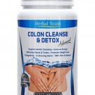 180 COLON CLEANSE CAPSULES 2000mg DAILY WEIGHT LOSS DIET DETOX SLIMMING PILLS BB