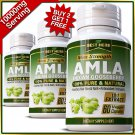 AMLA Capsules Pure Organic Indian Gooseberry Hair Growth Herb Healthy Hair Pills VV