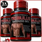 TRIBULUS TERRESTRIS 7500mg 96% SAPONINS BODY BUILD MUSCLE BOOSTER TESTOSTERONE VV