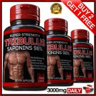 TRIBULUS TERRESTRIS 7500mg EXTRACT 96% SAPONINS BIG MUSCLE BODYBUILDING PILLS VV