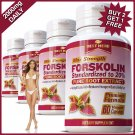 #1 FORSKOLIN EXTRACT EXTRACT PILLS WEIGHT LOSS DIET SLIMMING COLEUS FORSKOHLII VV