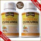TURMERIC EXTRACT CAPSULES 95% CURCUMIN TUMERIC ARTHRITIS PREMIUM PAIN RELIEF ZZ