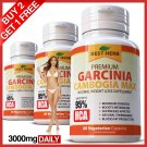 Pure Garcinia Cambogia Extreme Weight Loss 95% HCA Extract Diet Fat Burner Slim ZZ