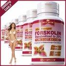 2 BOTTLES FORSKOLIN CAPSULES EXTRACT FAT BURNER WEIGHT LOSS DIET COLEUS FORSKOHLII PILLS ZZ