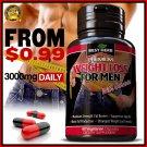 WEIGHT LOSS FOR MEN CAPSULES FAT BURNER DETOX SLIMMING DIET GARCINIA 95% HCA ONE BOTTLE