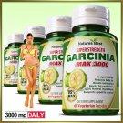 2 BOTTLES GARCINIA CAMBOGIA CAPSULES Weight Loss Fat Burner Diet Pills slimming Max 95%. ZZ
