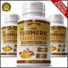 5 BOTTLES Strongest Turmeric 95% Curcumin BioPerine Arthritis Tumeric Capsules Joint Pain ZZ