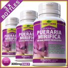 180 CAPSULES PUERARIA MIRIFICA 3000 BUST FIRMING BREAST ENLARGEMENT GROWTH PILLS ZZ
