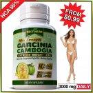 Garcinia Cambogia 95% HCA Capsules Weight Loss Diet Slimming 3000mg Daily Pills