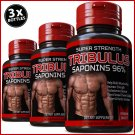 3 TRIBULUS TERRESTRIS 7500mg EXTRACT 96% STRONGEST PILLS BIG MUSCLE TESTOSTERONE ZX