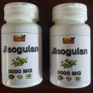 2 X 60 3000mg Jiaogulan Organic Herb-100% Gynostemma pentaphyllum adaptogen ZX