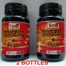 2 X BEST Korean Ginseng panax energy boost 3600 mg Capsule Max Saponin Adaptogen ZX