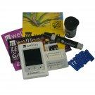 Ketone Meter - Ketosis Blood Test Monitor - Low Carb Atkins Diet - Leonardo Kit AA