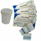 2 Drug Testing Kit Urine Test 10 in 1 + Sample Pot Cocaine Cannabis + more EE