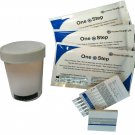 1 x Drug Testing Kit 7 in 1 Urine Test and Sample Cup Home Work Cannabis Cocaine RR