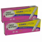4 x First Response Ultra Early Result Pregnancy Test Kits 2 Packs of 2 Tests .new