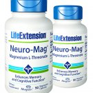 Life Extension Neuro-Mag Magnesium L-Threonate Support A Healthy Brain (90 Caps) one