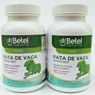 (2 Packs) PATA DE VACA (Cow's Foot) 180 CAPS 1000 MG Glucose Support Exp 12/2024 nee