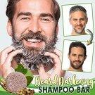 3 x Organic Grey Reverse Shampoo Bar - Essence Hair Darkening Shampoo 6 x 6 x 2.3 cm