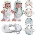 Baby Bottle Holder Feeding Pillow Infant Self Nursing pad Baby Pillow Gray