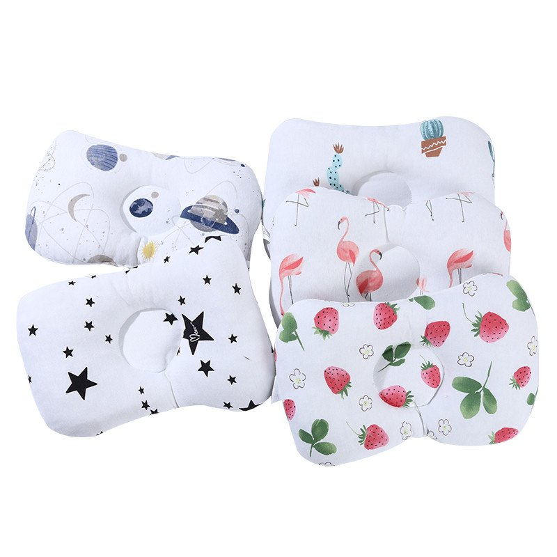 Baby Nursing Pillow Infant Newborn Sleep Support Cartoon Pillow  Prevent Flat Head
