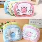 Newborn Baby Pillow Anti-rollover Pillow Infant Baby Positioning Pillow Pink Bear