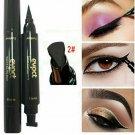 Winged Eyeliner Stamp Waterproof Long Lasting Liquid Eyeliner Pen Black
