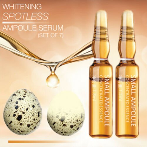 Whitening Spotless Ampoule Serum Moisturizing-Nourish Essence 7 bottles