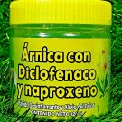 Arnica Naproxen 120 grs Support Pain Pomada Ointment new