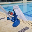 Swimming Pool Vacuum Cleaner Cleaning Disinfect Tool Cleaner Brush with Handle nn