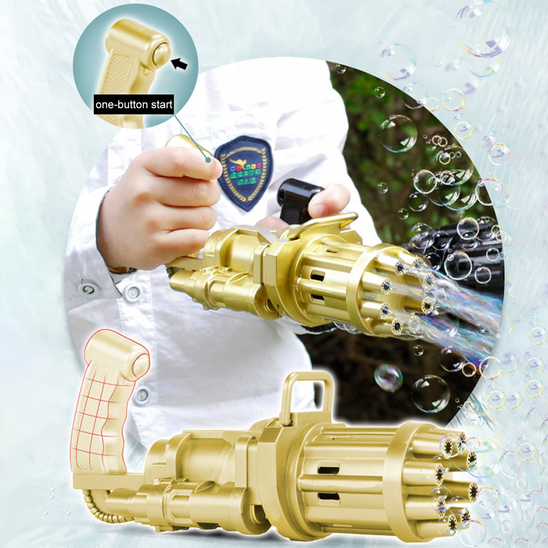 Kid Toy Bubble Gum Machine Plastic Toy For Children Golden