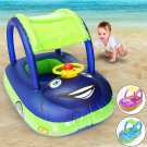 Baby Kids Float Seat Boat Inflatable Swim Swimming Ring Pool Water new
