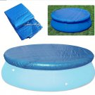 Swimming Pool Cover Round Rectangle Waterproof Cover Mat For 8 ft