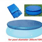 Swimming Pool Cover Round Rectangle Waterproof Cover Mat For 10 ft