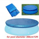 Swimming Pool Cover Round Rectangle Waterproof Cover Mat For 12 ft