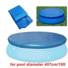 Swimming Pool Cover Round Rectangle Waterproof Cover Mat For 15 ft