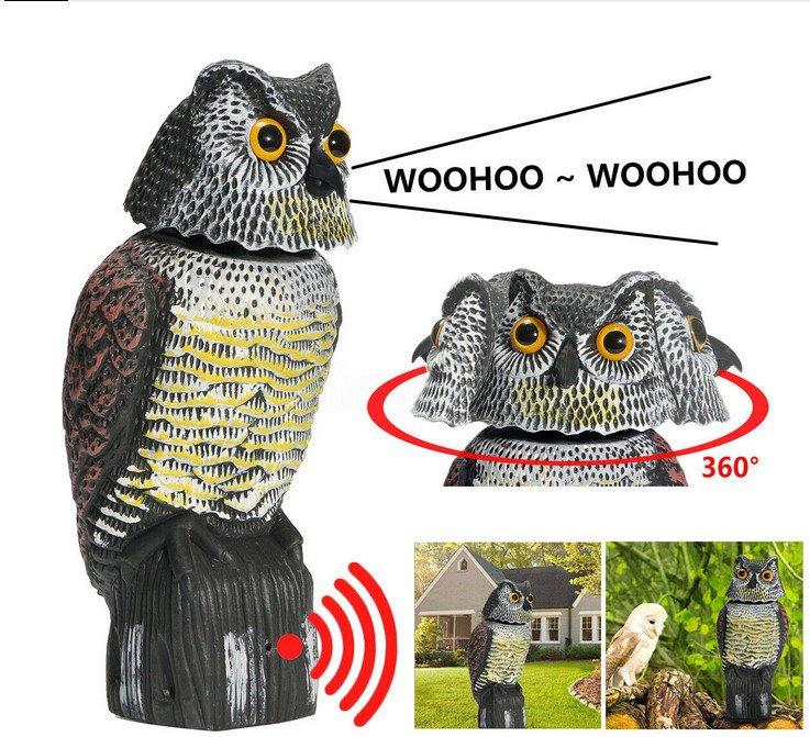 Owl ScarerGarden Owl Sound Power Scarer